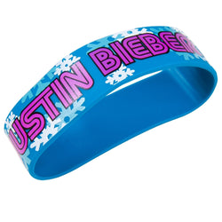 Justin Bieber - Snowflakes Rubber Wristband
