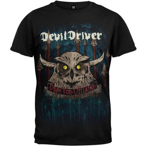 Devildriver - Owl And Spears T-Shirt
