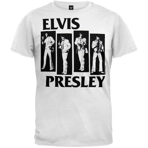 Elvis Presley - Black Bars Soft T-Shirt