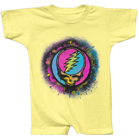 Grateful Dead - Splatter SYF Banana Romper