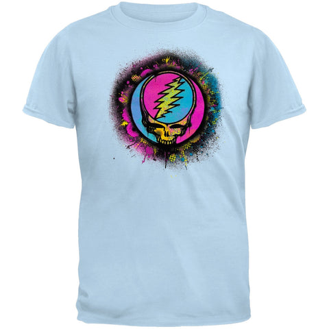Grateful Dead - Splatter SYF Light Blue Youth T-Shirt
