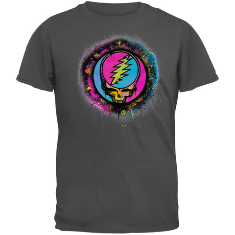 Grateful Dead - Splatter SYF Charcoal Youth T-Shirt