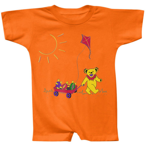Grateful Dead - Wagon Mandarin Romper