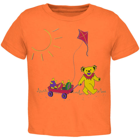 Grateful Dead - Wagon Cantaloupe Toddler T-Shirt