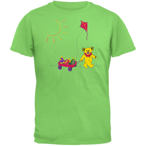 Grateful Dead - Wagon Lime Youth T-Shirt