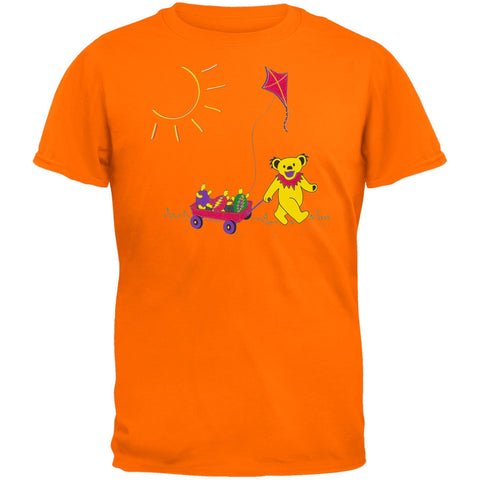 Grateful Dead - Wagon Tangerine Youth T-Shirt