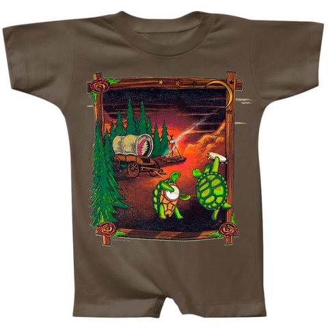 Grateful Dead - Covered Wagon Infant Romper