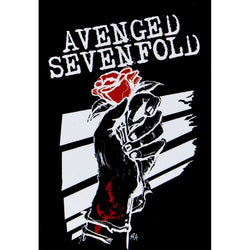 Avenged Sevenfold - Rose Hands Tapestry