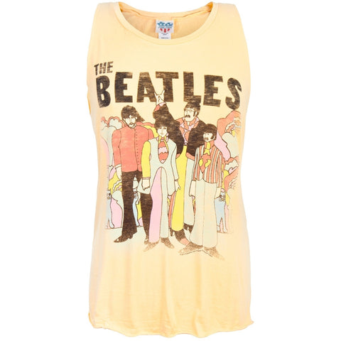 Beatles - Cartoon Juniors Tank Top