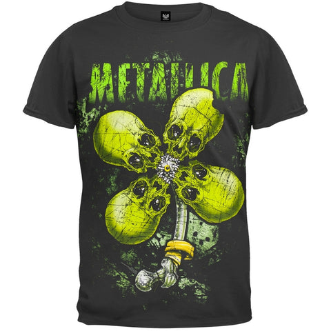 Metallica - Vintage No Leaf Clover T-Shirt