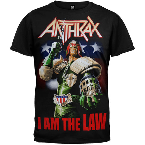 Anthrax - Judge Dredd T-Shirt