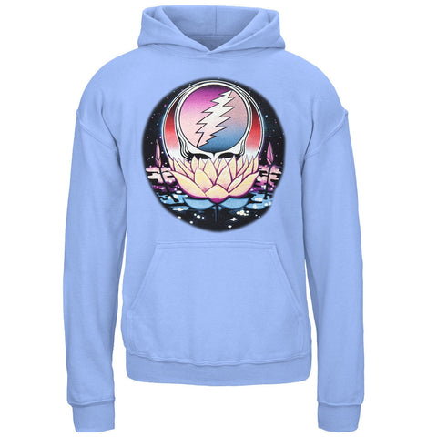 Grateful Dead - Lotus SYF Carolina Blue Youth Hoodie