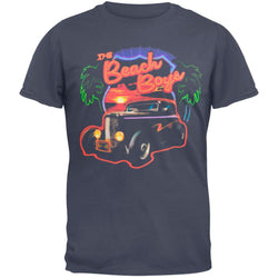 Beach Boys - Neon Logo And Palms 2010 Tour T-Shirt