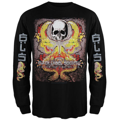 Black Label Society - Dragon Tour Long Sleeve T-Shirt
