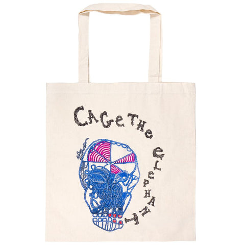 Cage The Elephant - Skull Tote Bag
