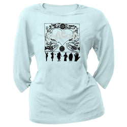 Genesis - Dancing Girls Juvy 3/4 Sleeve T-Shirt
