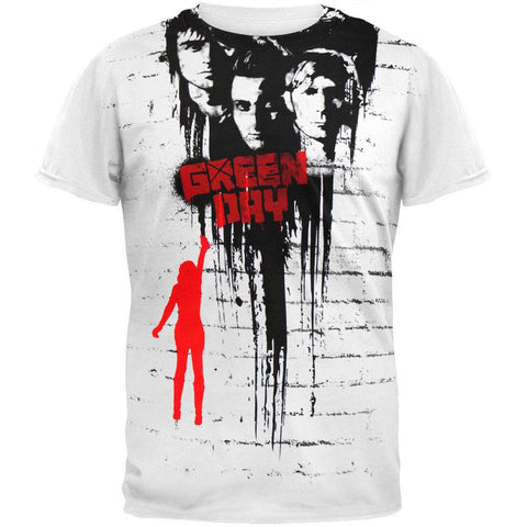 Green Day - Tag Jumbo Print T-Shirt