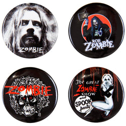 Rob Zombie - 4 Piece Button Set