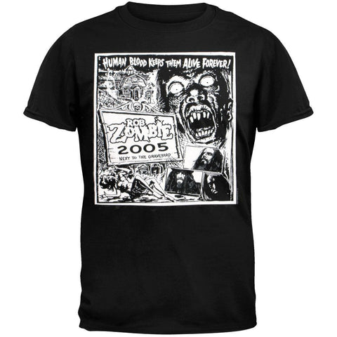 Rob Zombie - Blood Keeps Them Alive T-Shirt