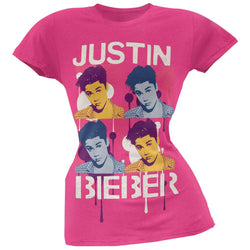 Justin Bieber - Face Drip Juniors T-Shirt