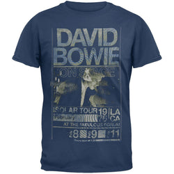 David Bowie - Isolar Tour 1976 Soft T-Shirt