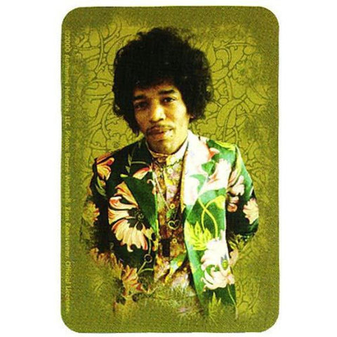 Jimi Hendrix - Floral Decal