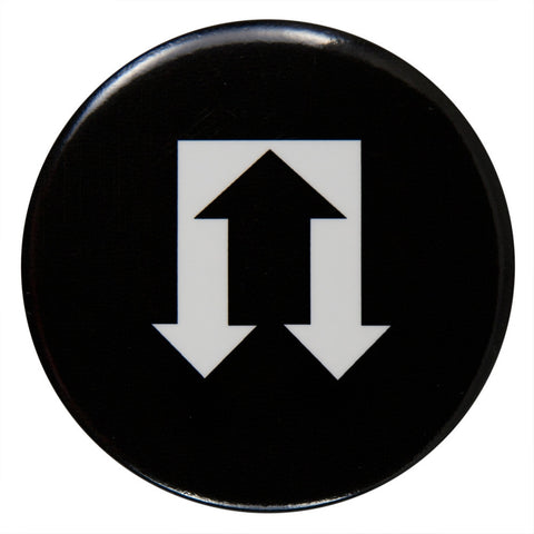 Tom Petty - Arrow Logo - Button