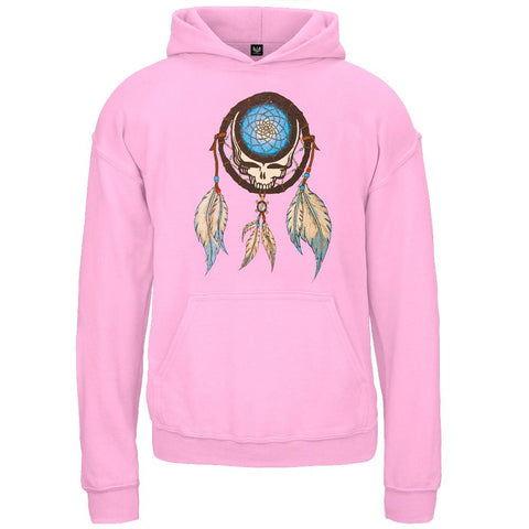 Grateful Dead - Dreamcatcher Pink Youth Pullover Hoodie