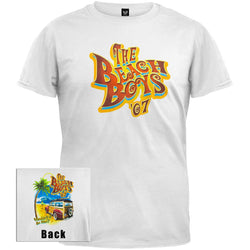 Beach Boys - White Woody '07 Tour T-Shirt