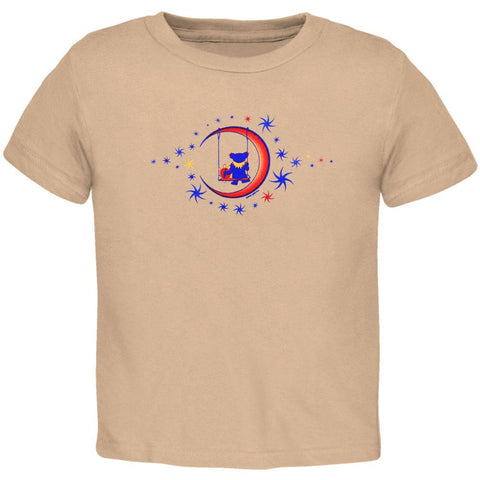 Grateful Dead - Moon Swing Tan Juvy T-Shirt