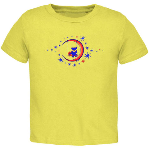 Grateful Dead - Moon Swing Yellow Juvy T-Shirt
