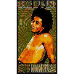 Bob Marley -Wake Up and Live Decal 6 x 3