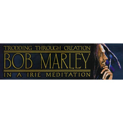 Bob Marley - Meditation Decal 2.75 x 9