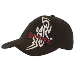 Godsmack - Red Tribal Logo Flex-Fit Cap