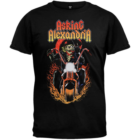 Asking Alexandria - Ride For Death Soft T-Shirt
