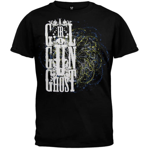 A Girl A Gun A Ghost - Swirl Youth T-Shirt