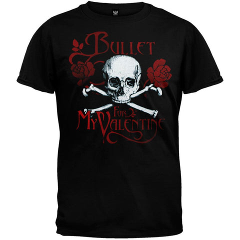 Bullet For My Valentine - Skull & Roses Youth T-Shirt