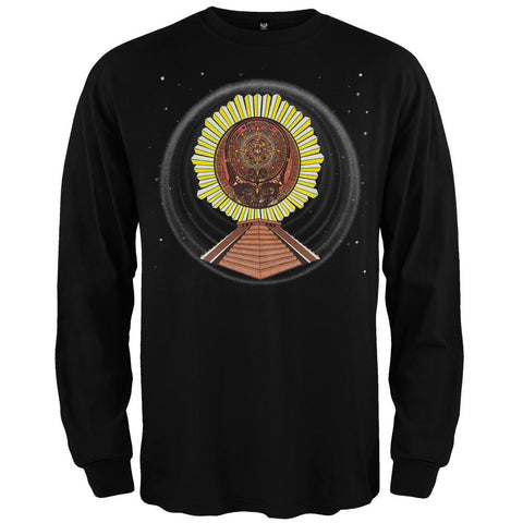 Grateful Dead - Aztec SYF Black Long Sleeve T-Shirt