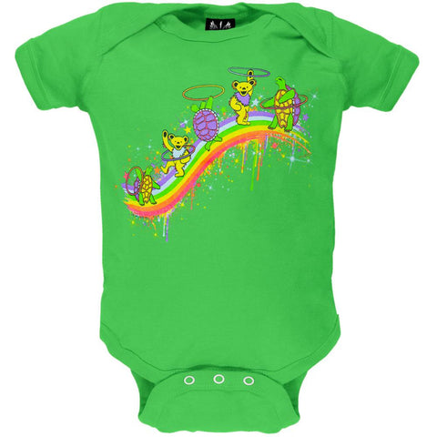Grateful Dead - Rainbow Hoopers Apple Baby One Piece