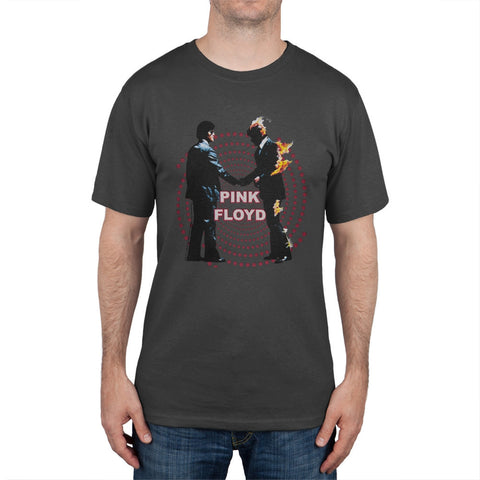 Pink Floyd - Distressed Burning Man Soft T-Shirt