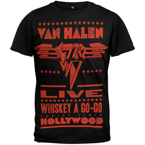 Van Halen - Whiskey a Go-Go T-Shirt