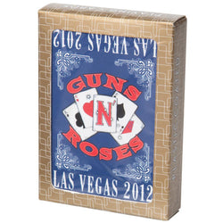 Guns N' Roses - Las Vegas 2012 Playing Cards