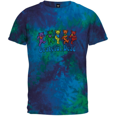 Grateful Dead - Dancing Bears Tie Dye T-Shirt