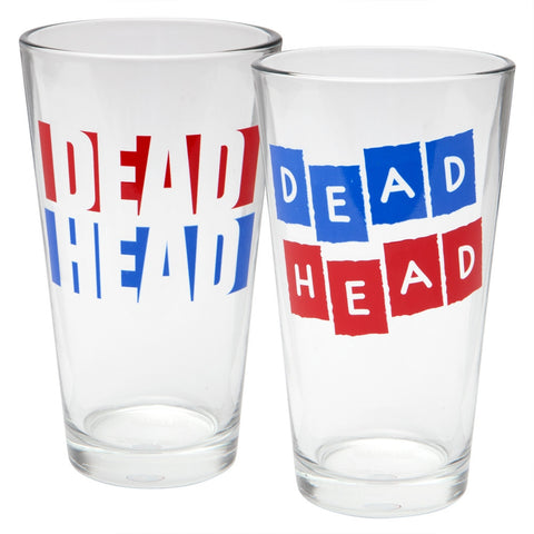 Grateful Dead - Deadheads Two Pack Pint Set