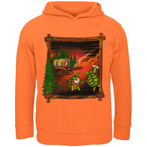 Grateful Dead - Covered Wagon Manderin Toddler Hoodie