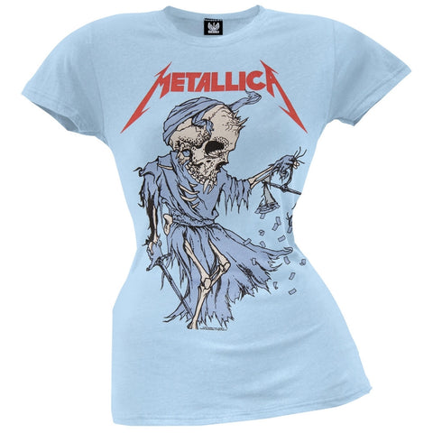 Metallica - Cartoon Reaper Juniors T-Shirt