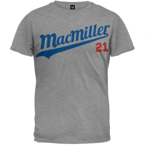 Mac Miller - 21 Baseball Script Soft T-Shirt