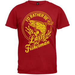 Mac Miller - I'd Rather Be Larry Fisherman Soft T-Shirt