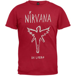 Nirvana - Chalk Outline In Utero Soft T-Shirt