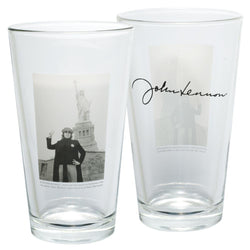 John Lennon - New York Two Pack Pint Glass Set